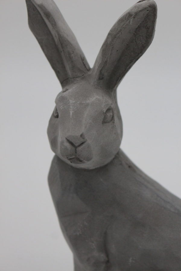 Concrete Bunny close-up