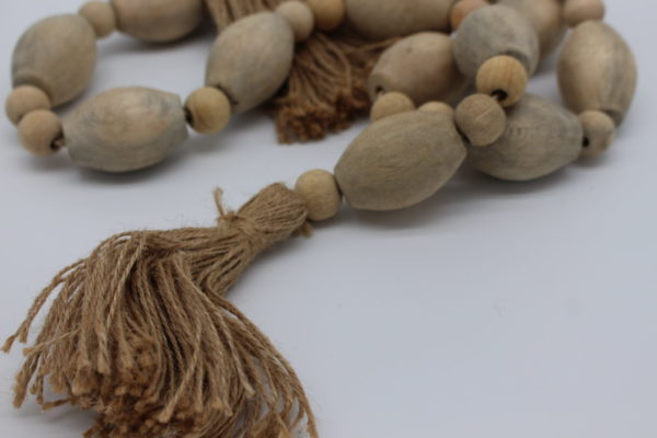 Mango Wood Bead Garland rope